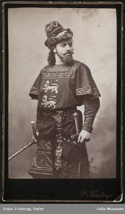 Emil Poulsen i Drot og marsk.