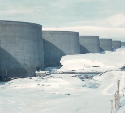 Damm ved Stolsvatn nedtappet