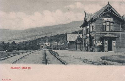 Hunder jernbanestasjon