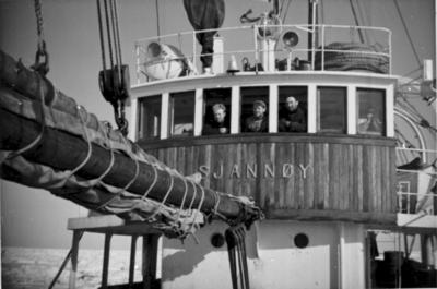 Sjannøy fra Møre på ishavsfangst