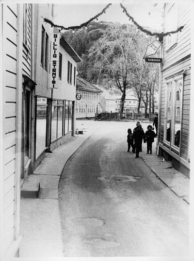 Kirkegaten i Egersund