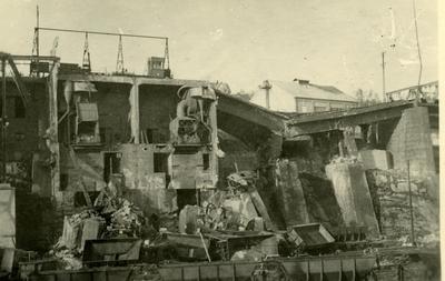 LKABs anlegg etter krigsdeleggelser