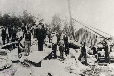 LKABs steinbrudd Kjærringness i Skjomen