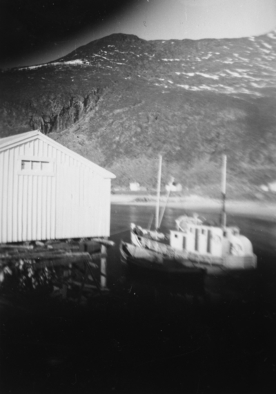 Tunhil ved kai på Bø i Berg