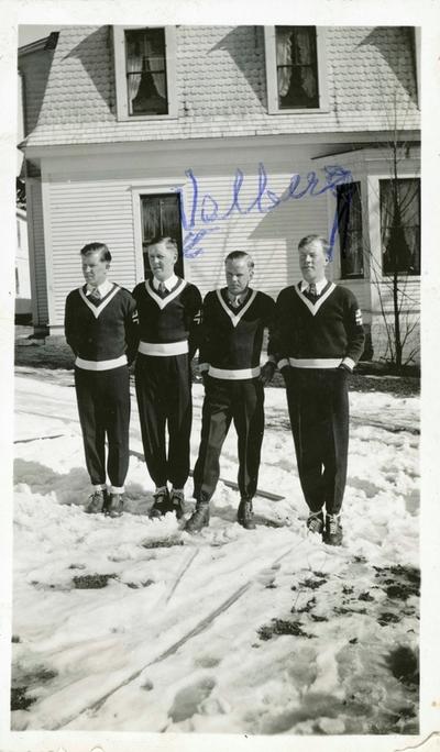 Fire norske skihoppere i USA
