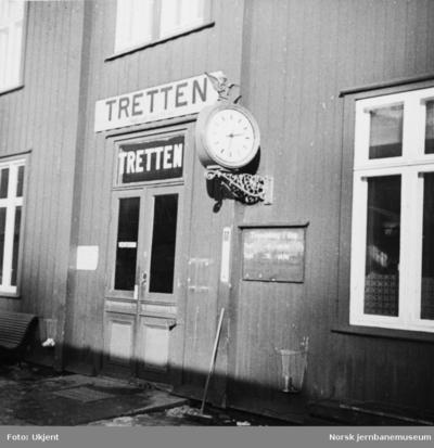 Tretten stasjonbygning