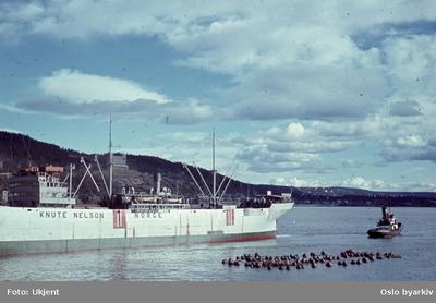 Båter ved kai og på havna