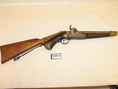 Perkusjonspistol 21 lødig M1831/46 flankør
