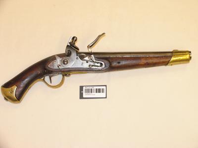 Flintlåspistol 22 lødig M1831 studser