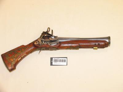Flintlåspistol (snapplås) ca 1550