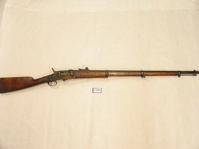 Fallblokkgevær 12mm Larsens system