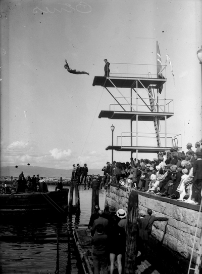 Svømmestevne på Skansen