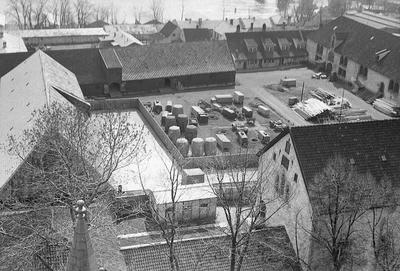 Byen, sett fra D.kirken panorama, 360 o
