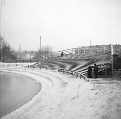 Stadion forberedelse til N.M.