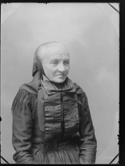 8ccb81c8 Portrett av kvinne i tradisjonelle klær fra rørosdistriktet