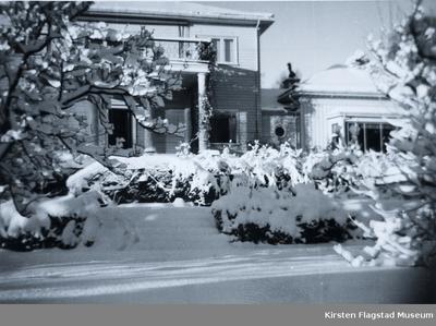 Vinter på Amalienborg