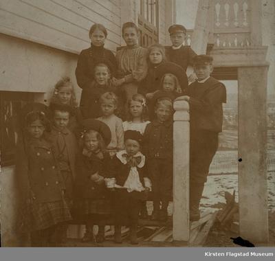 Kirsten Flagstads selskap hjemme på Vinderen 1903