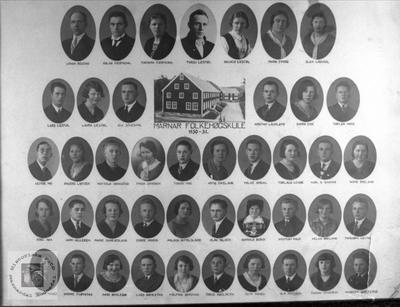 Marnar Folkehøgskole 1930-1931
