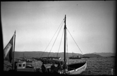Vintersildfiske med drivgarn i Frøysjøen