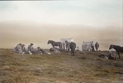 Fra foredragsrekken Landmålerlivet i Finnmark v/Axel Printz : Oppbrudd fra Guorgga