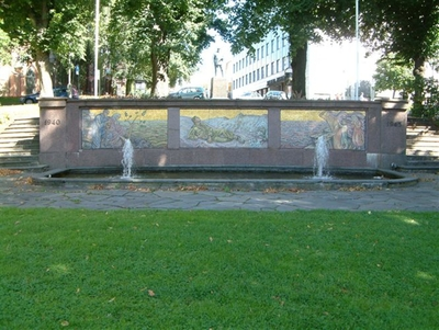 Skulptur over falne fra Tønsberg