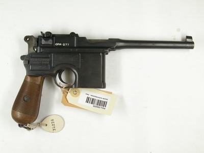 Pistol 7,63 mm Mauser C96 M12