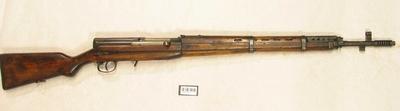 Selvladegevær 7,62x54R Tokarev SVT obr1940g