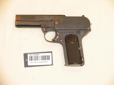 Pistol 7,65 mm Dreyse M1907