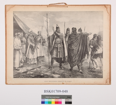 Olav Trygvassøns ankomst til Norge