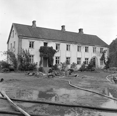 Brann på Lundamo gård. Adressa.