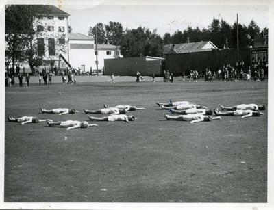 Idrettsstevne i Levanger 1961
