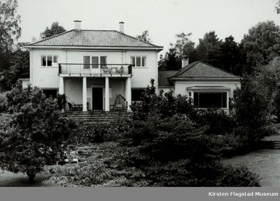 Kirsten Flagstads hjem Amalienborg i Kristiansand