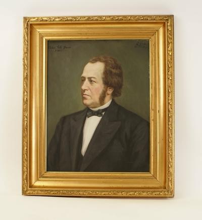 Portrett av apoteker Peder Leth Øwre 1826-1883