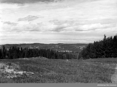 Utsikt från Lönneberg i Rogberga socken.