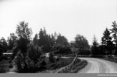 Gamla landsvägen vid Sekebo i Rogberga socken.