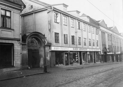 Borgmästaregatan 1930-talet Karlskrona Foto Maja Johanssons atelje.