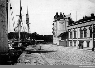 En del av Inre hamnen i Jönköping.