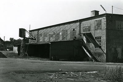Oskarshamns varv. Verkstad Nr. 14. I förgrunden avtecknarboden.