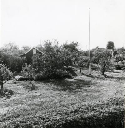 Hargshamn. Bl.a. stuveriarbetarnas bostäder.