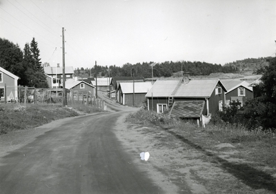 Ångermanland, Nordingrå sn. Bebyggelsen i Bönhamns fiskeläge. Här fanns tidigare ett femtontal yrkesfiskare och nu bara en. På 1920-talet startades en emballagefabrik i Bönhamn. Ursprungligen gjorde man träkaggar men har övergått till plåtemballage. Fabriken sysselsätter totalt omkring 15 personer. Den ägs av Docksta skofabrik. I fiskeläget har man under senare tid satsat på turismen. En del sjöbodar och kokhus har byggts om för turister. Helt nya stugor har också byggts. Jfr Fo41739AB.