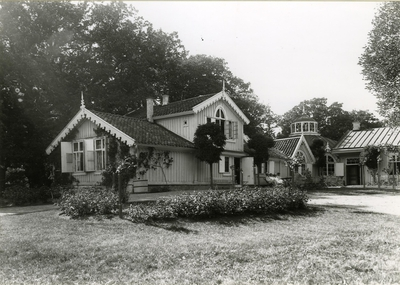 Skärva gård, midsommar 1921.  Nettraby socken, Blekinge län.