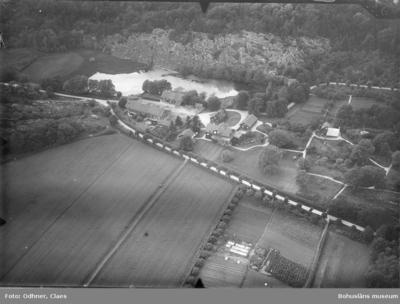 Flygfoto över Sundsby säteri 19191920
