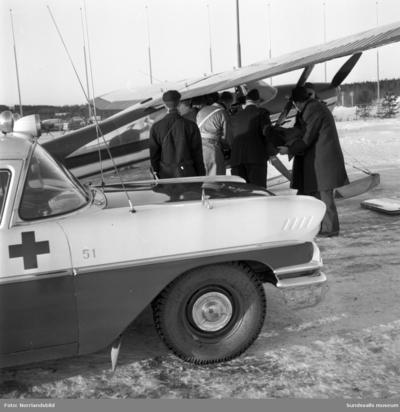 Sjuktransport från Midlanda med Gunnar