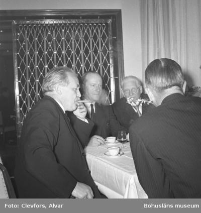 Lysekil. Invigningen av Hotell Lysekil. 1952.05.28
