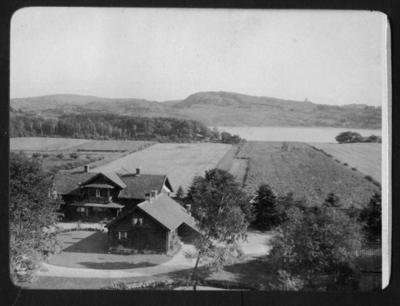 Sundsby säteri vintern 1919