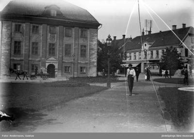 Gamla Rådhuset vid Östra Storgatan i Jönköping.