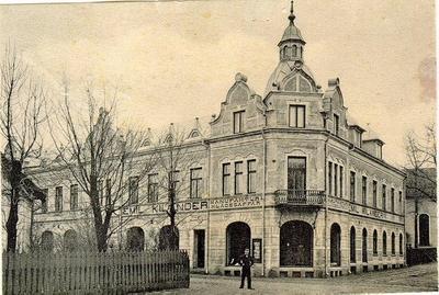 Storgatan 11-13, Kilanders. Från början av 1900-talet.