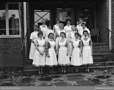 Personal vid Rosendala äldreboende i Huskvarna.