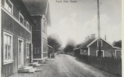 Karlsborg i början av 1900-talet.Parti från Åsen.
