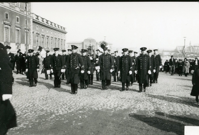 Vaktparaden i Stockholm, Flottans musikkår.